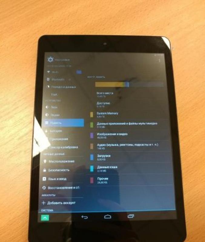 "RealPad MA7BX2 7.85"" 16 GB 2 ядра INTEL! WiFi! - Фото 2"