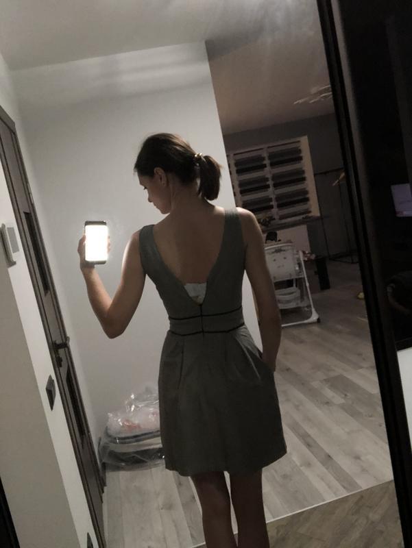 Плаття - сарафан у дрібненьку клітинку від suiteblanco {акція!... - Фото 4