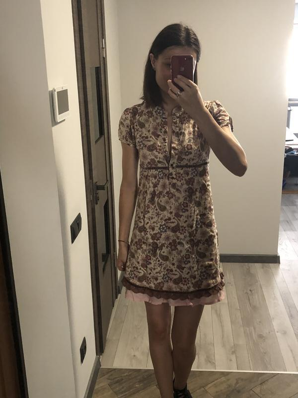 Миле плаття у квітковий принт. акція!!!! 1+1= 3️⃣ 🎁🎉