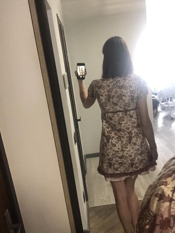 Миле плаття у квітковий принт. акція!!!! 1+1= 3️⃣ 🎁🎉 - Фото 3