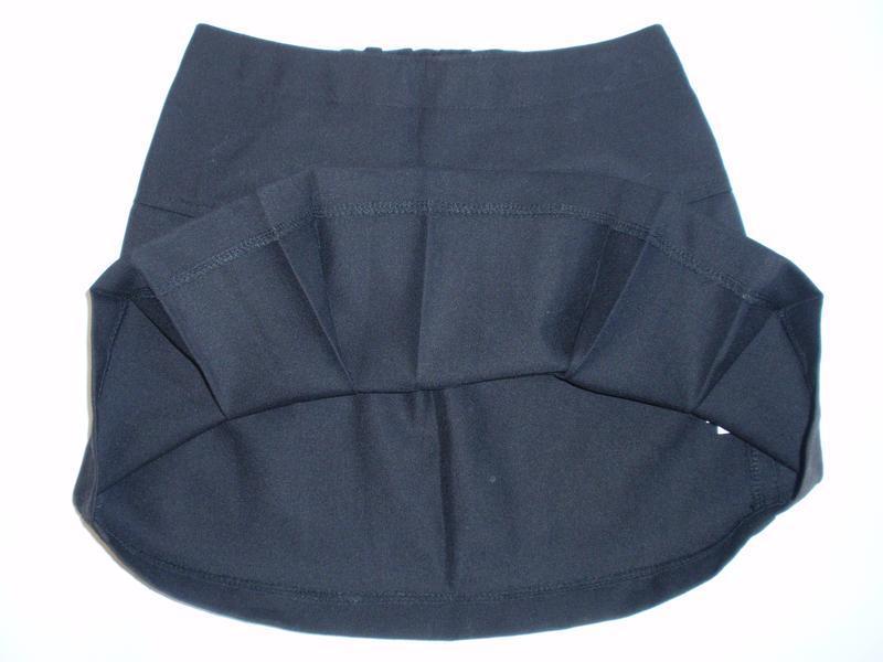 Юбка школьная черная для девочки р. 128-134 - Фото 3
