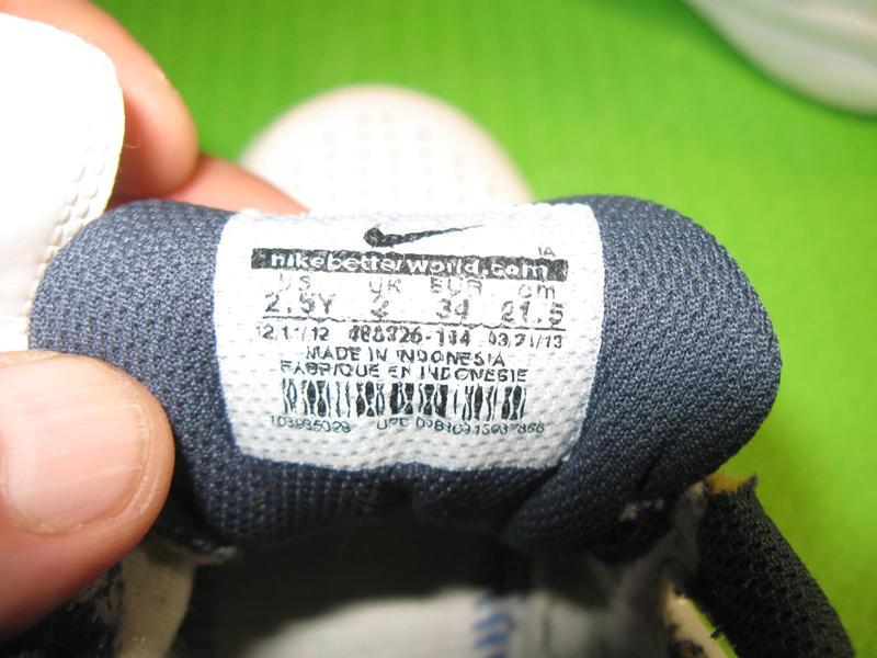 Кроссовки Nike оригинал, Индонезия,модель City court,размер 35 - Фото 4