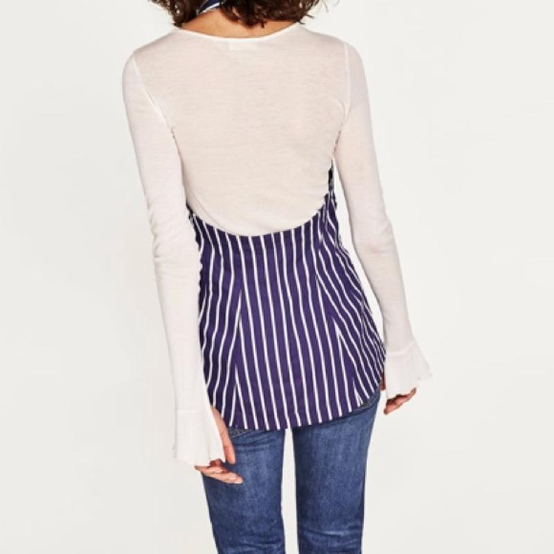 Фирменная блузка zara, размер м - Фото 2