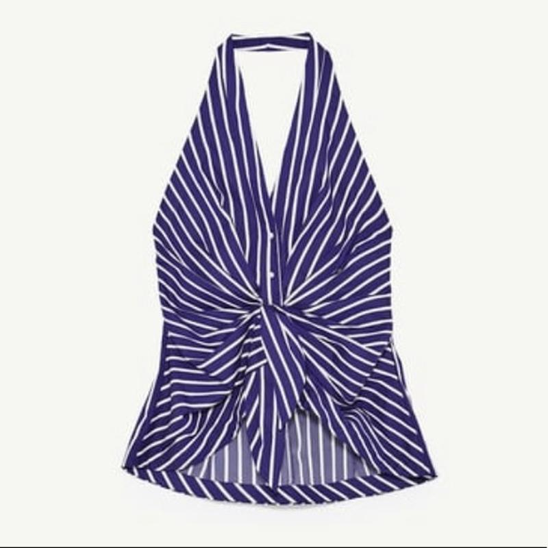 Фирменная блузка zara, размер м - Фото 3