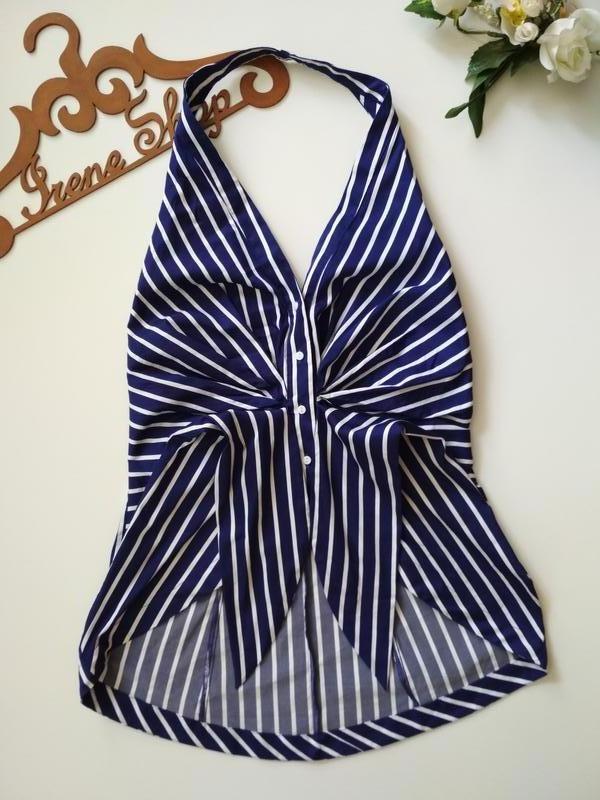 Фирменная блузка zara, размер м - Фото 4