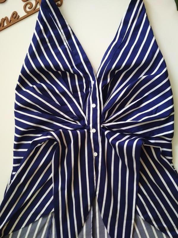Фирменная блузка zara, размер м - Фото 5