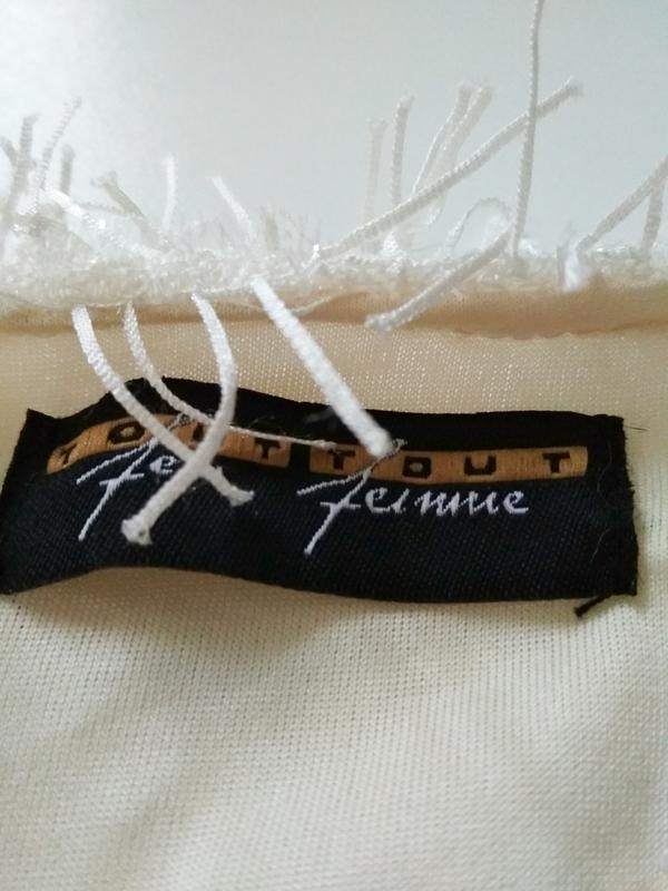 Стильная кофта tout feu tout femme, размер l - Фото 5