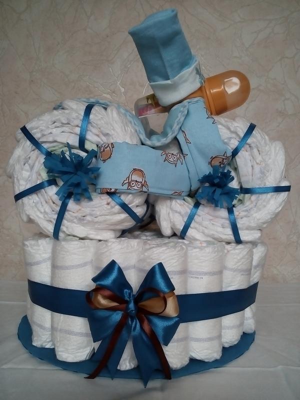 Торти з підгузків / Торты из подгузников / Торты из памперсов