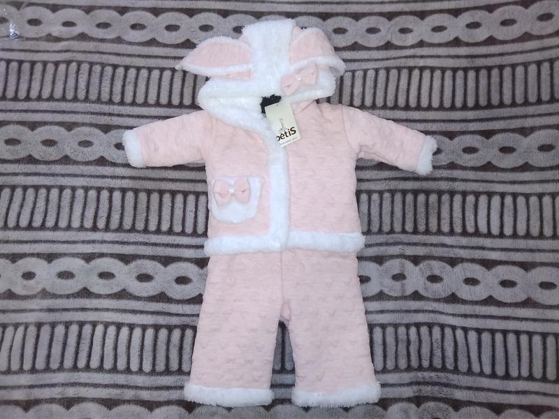 Теплий  костюмчик для  дівчинки - Фото 2