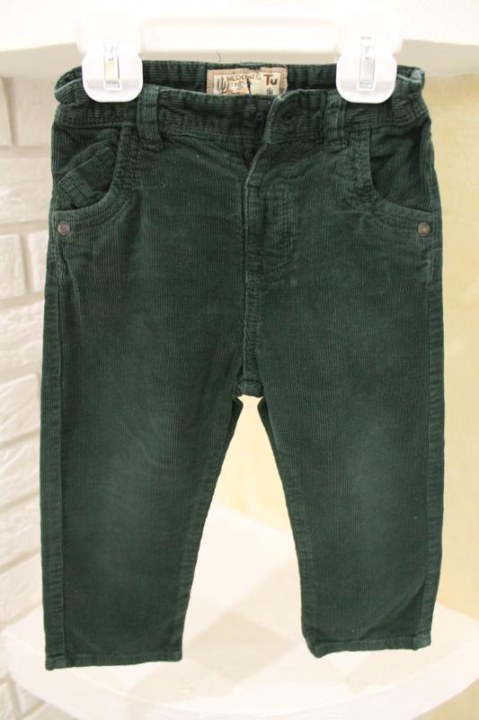 Вельветовые джинсы 80-86 см
