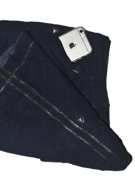 Юбка с полосками по бокам и карманами topshop - Фото 4