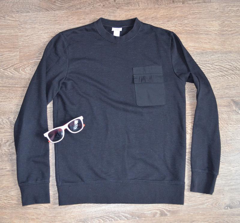 Оригинальный стильный свитшот базовая классическая модель  h&m ®