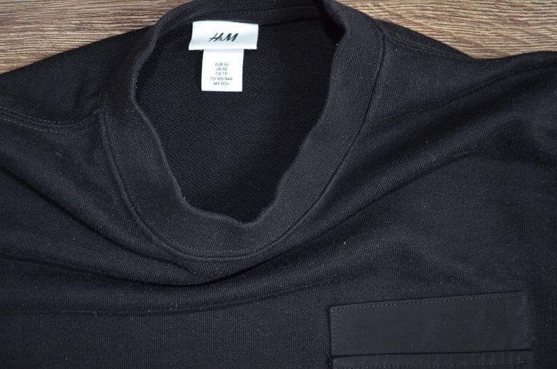 Оригинальный стильный свитшот базовая классическая модель  h&m ® - Фото 3