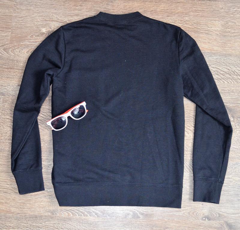 Оригинальный стильный свитшот базовая классическая модель  h&m ® - Фото 5