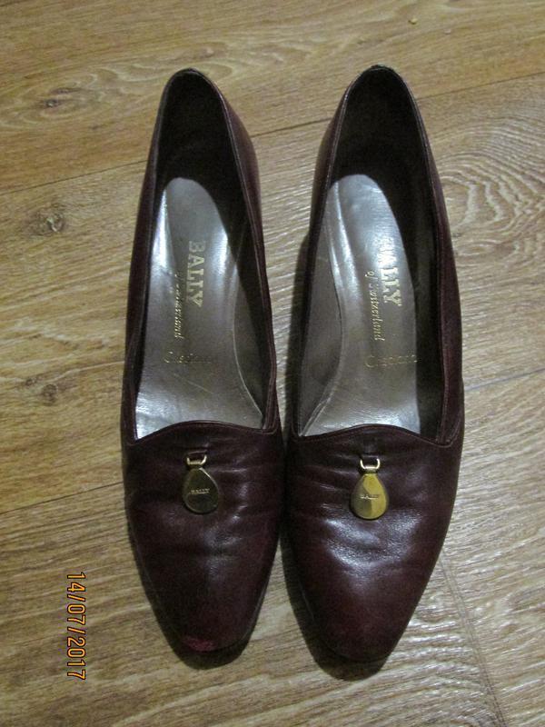 Шикарные туфли известного бренда bally of switzerland crispiano