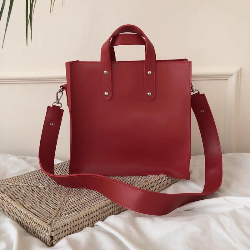 Стильна сумка в еко шкірі
