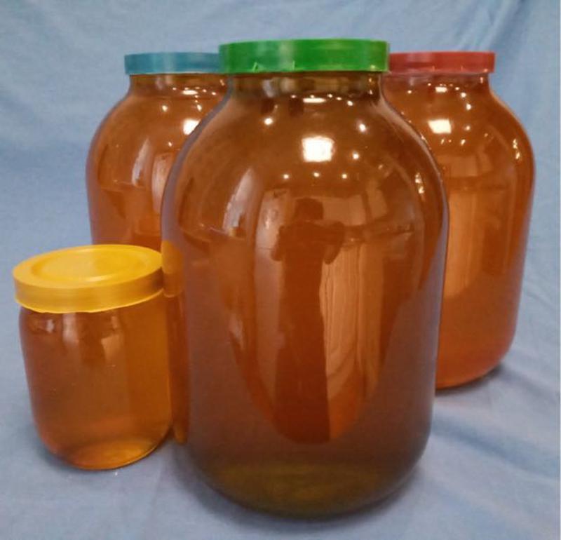 Мёд натуральный цветочный 2020г