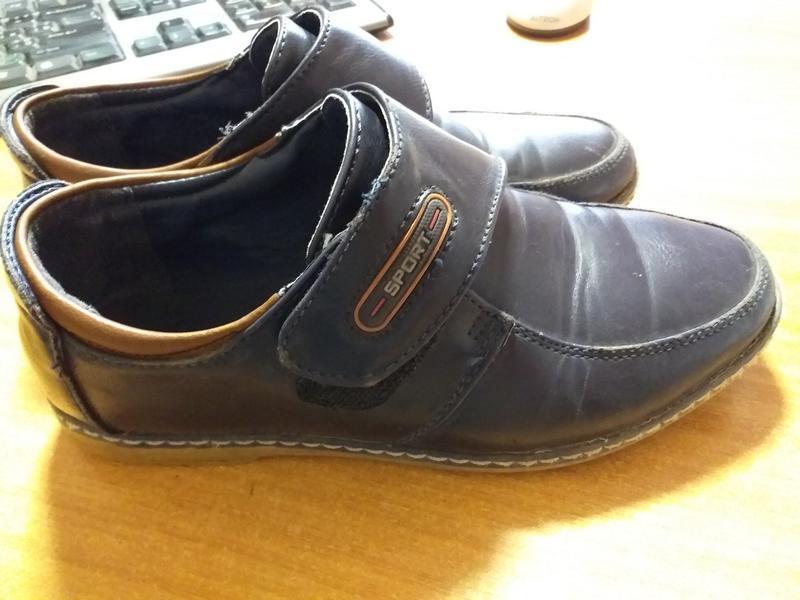 Туфли мальчику, размер 32, в хорошем состоянии