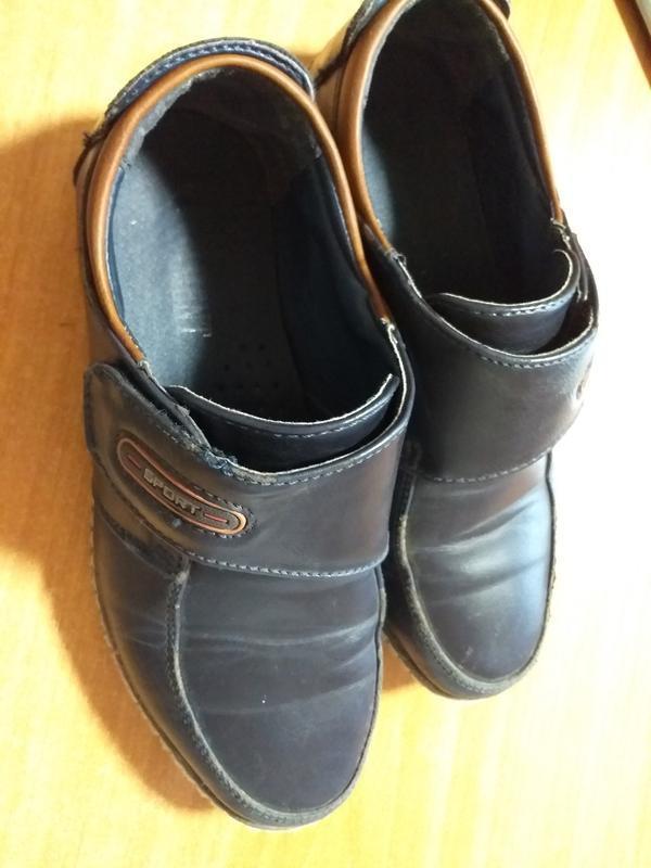 Туфли мальчику, размер 32, в хорошем состоянии - Фото 5
