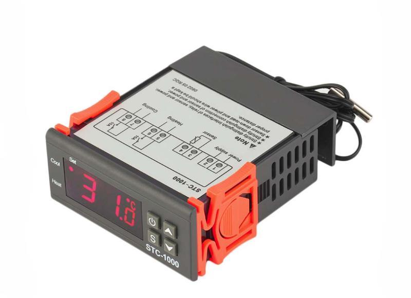 Терморегулятор STC-1000 AC-220В. термореле. Термостат.