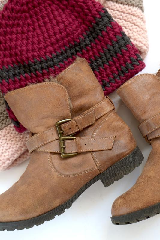 Трендовые сапоги коричневого цвета - Фото 2