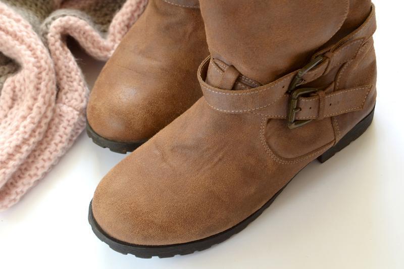 Трендовые сапоги коричневого цвета - Фото 3