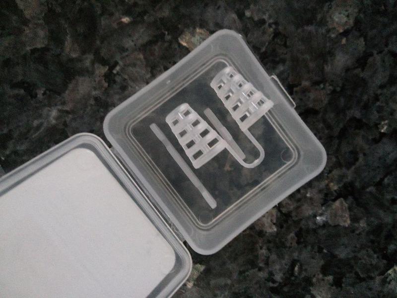 Клипса антихрап. мини зажим для носа в коробке 1 пара