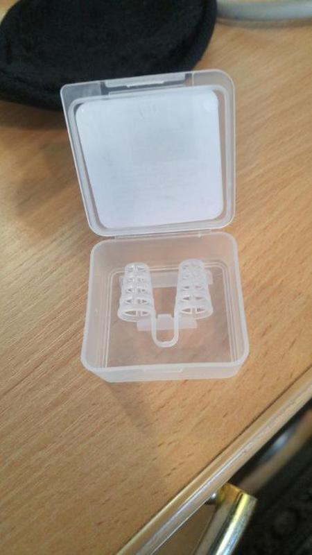 Клипса антихрап. мини зажим для носа в коробке 1 пара - Фото 3