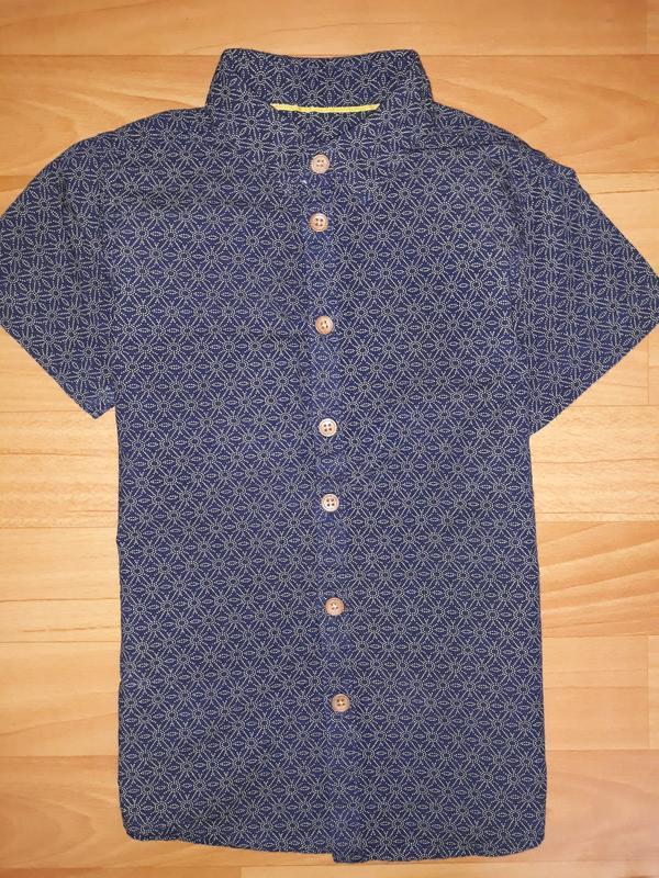 Стилёвая рубашка rebel на 4-5 лет 2016г
