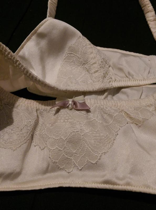 Натуральный шелк, пояс для чулок marks&spenser - Фото 3