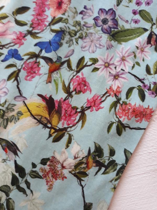 Hallhuber фирменная футболка#топ#блуза#майка в цветы#цветочный... - Фото 3