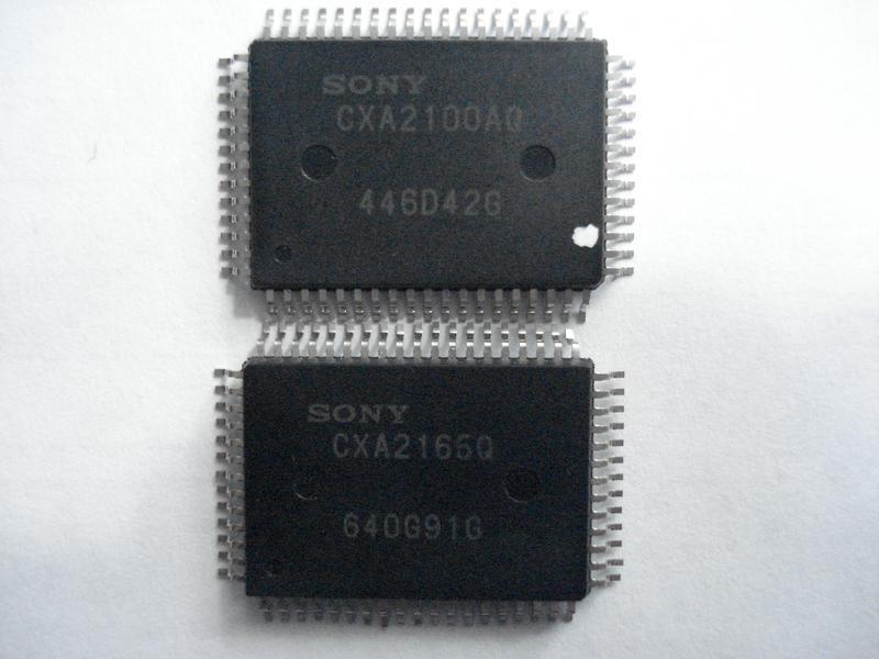 Процессор CXA2165Q CXA2100AQ