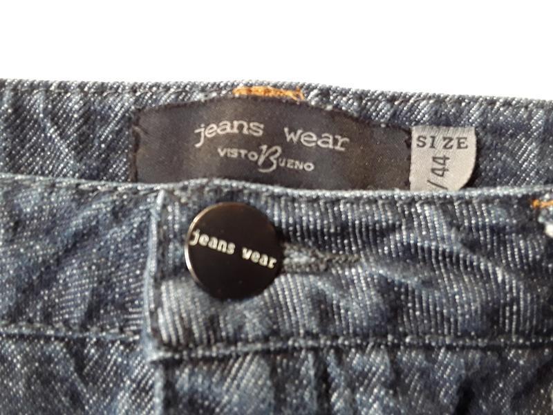 Джинсовая юбка карандаш - Фото 4