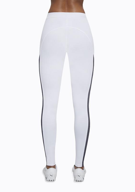Женский костюм для фитнеса bas bleu imagin белый с черным - Фото 3