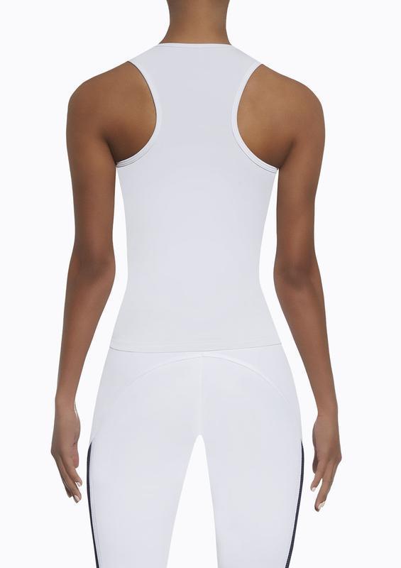 Женский костюм для фитнеса bas bleu imagin белый с черным - Фото 4