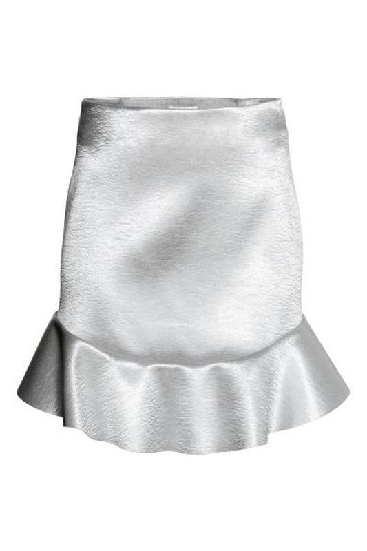 Невероятная юбка с воланами из плотной ткани от h&m - Фото 2