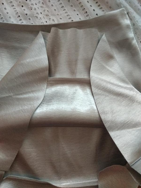Невероятная юбка с воланами из плотной ткани от h&m - Фото 3