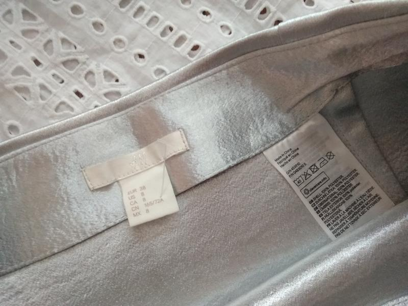 Невероятная юбка с воланами из плотной ткани от h&m - Фото 4