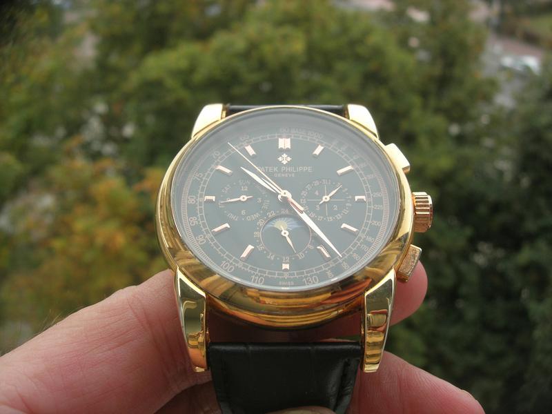 Часы Patek Philippe Perpetual Black - Фото 2