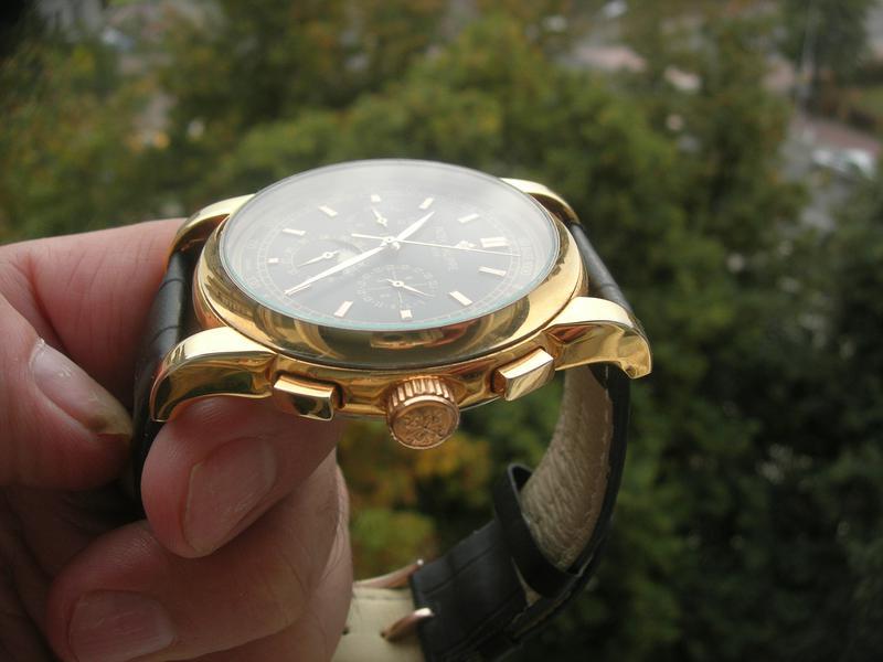Часы Patek Philippe Perpetual Black - Фото 3