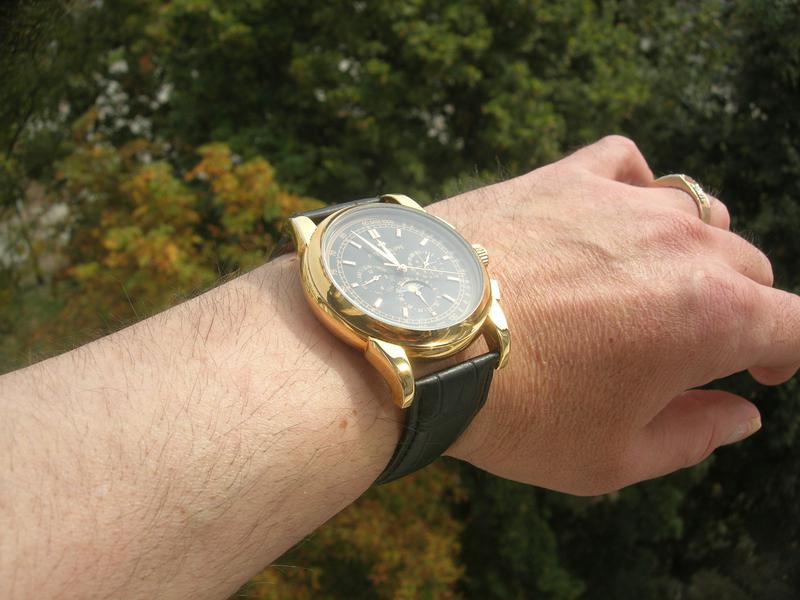 Часы Patek Philippe Perpetual Black - Фото 5