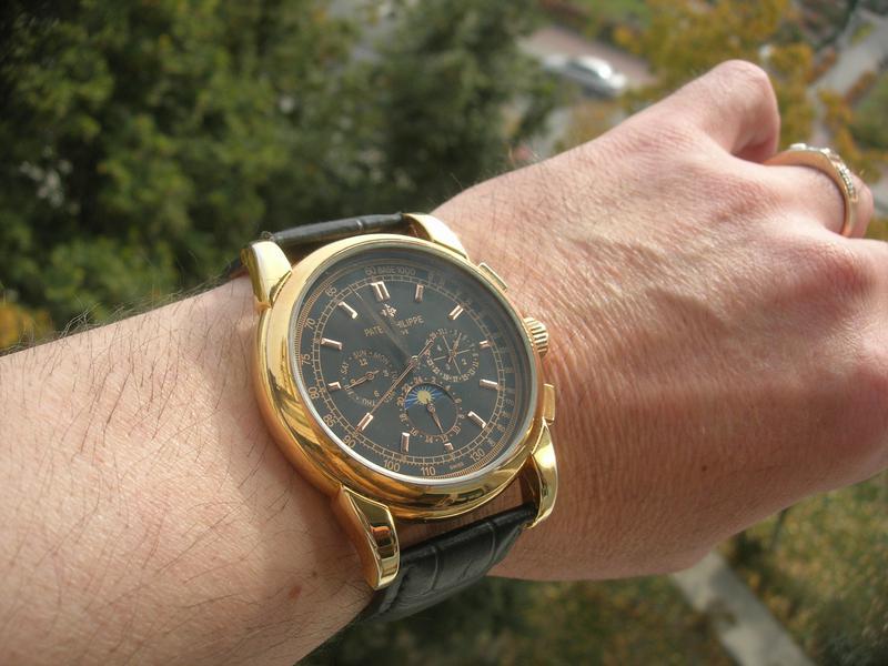 Часы Patek Philippe Perpetual Black - Фото 6