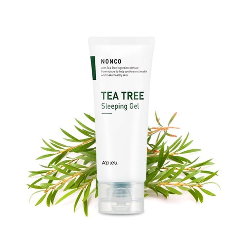 Ночной гель -маска для проблемной кожи a'pieu nonco tea tree s...