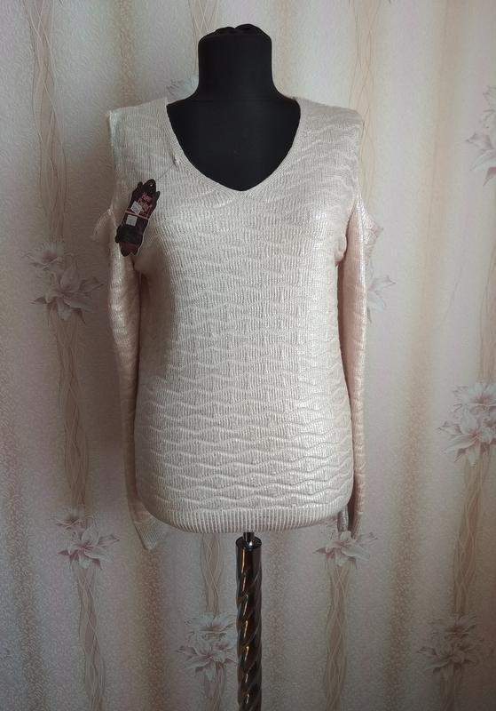Ультрамодный свитер new dishy, р. 46-48 наш, турция
