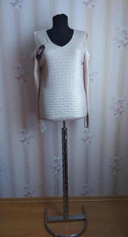 Ультрамодный свитер new dishy, р. 46-48 наш, турция - Фото 2