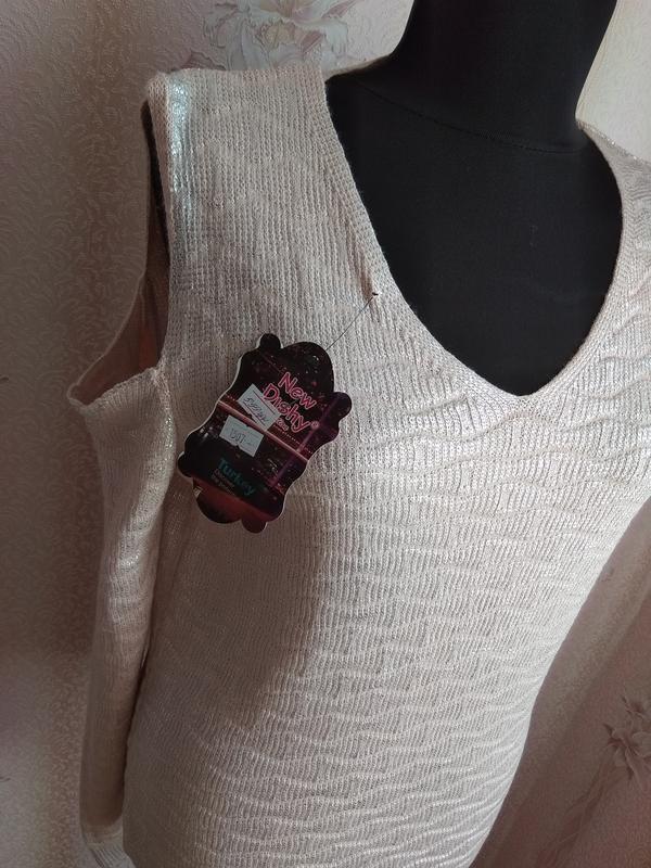 Ультрамодный свитер new dishy, р. 46-48 наш, турция - Фото 5
