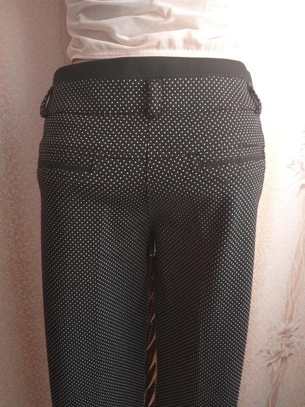 Мега-стильные женские брюки gertie , р.36, турция - Фото 4