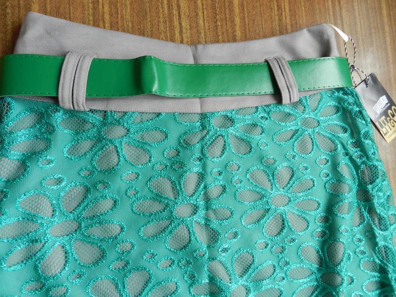 Супер юбка миди колокол гипюр р. м-2хl украина - Фото 3