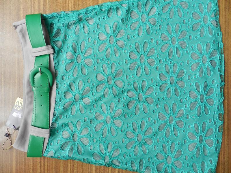 Супер юбка миди колокол гипюр р. м-2хl украина - Фото 4
