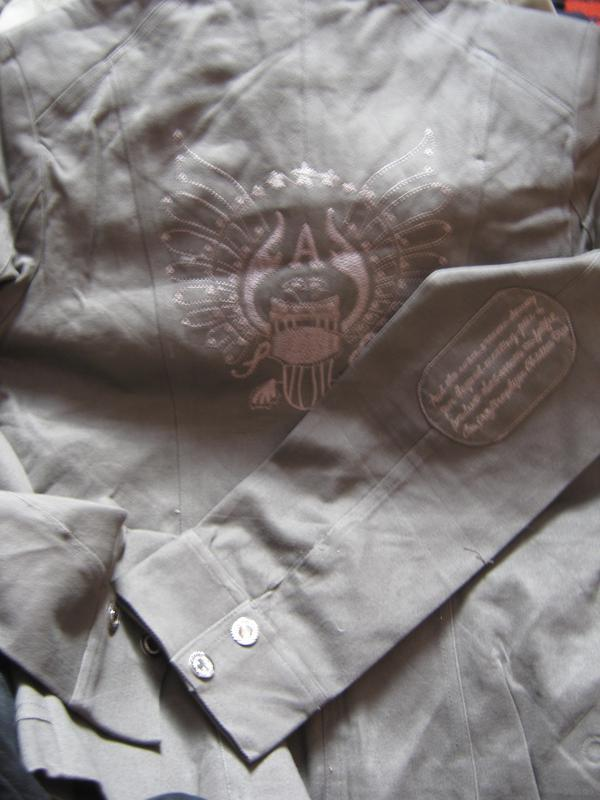 Куртка-пиджак котон, вышивка р.xl- наш 46, 4 цвета - Фото 3